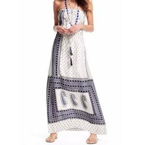 Calypso St. Barth | Silk Strapless Maxi Dress | L